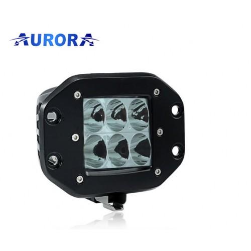 AURORA ALO-E-2-D1J, врезная фара, водительский свет, не слепит встречку, Официальный дилер Aurora