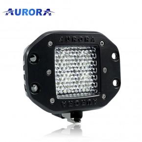 Aurora ALO-EK-2-E4T, врезная фара рабочего света 40W задний ход, дальность 25м