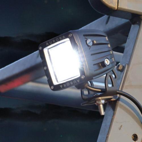 Фара рабочего света, ALO-K-2-E4T, дальность 25м, фонарь заднего хода, официальный дилер Aurora в Казахстане