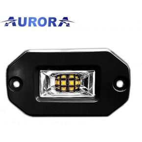 AURORA фара ALO-EL-2-E13T, панорамного света, врезная, 10см, 20W, Угол 120°