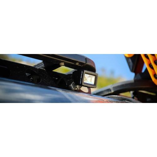 AURORA ALO-L-2-E13T, светодиодная фара панорамного света, рабочий свет, 7.24см, 20W, Угол 120°