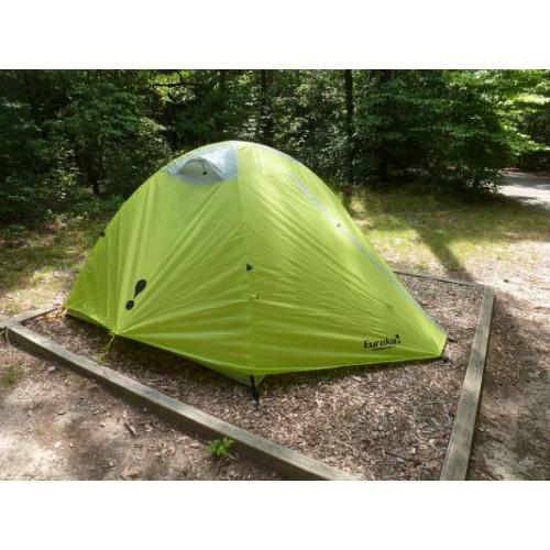 Двухместная палатка Eureka Apex 2XT, цвет зеленый, палатка на 3 сезона