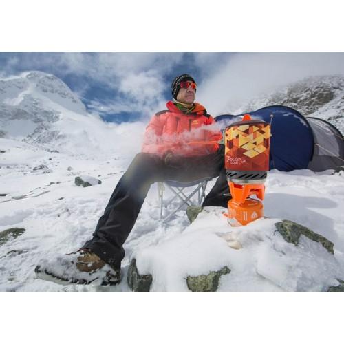 Портативная система приготовления пищи  3-в-1 на открытом воздухе, Газовая горелка Fire-Maple STAR X2 FMS-X2, объемом 1л