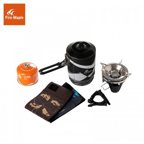 Комбинированная система приготовления пищи, Газовая горелка Fire-Maple STAR X2, объемом 1л