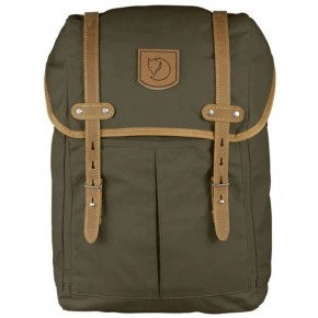 Рюкзак FjallRaven Rucksack No. 21 Medium цвет dark olive