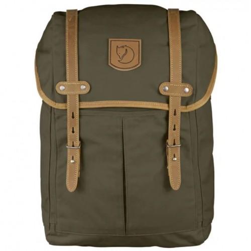 Рюкзак FjallRaven Rucksack 21 Medium, цвет dark olive, классический городской рюкзак, Швеция