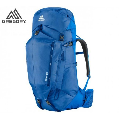 Рюкзак Gregory Stout 65 L цвет синий, рюкзак туристический для многодневных походов, доставка по Казахстану