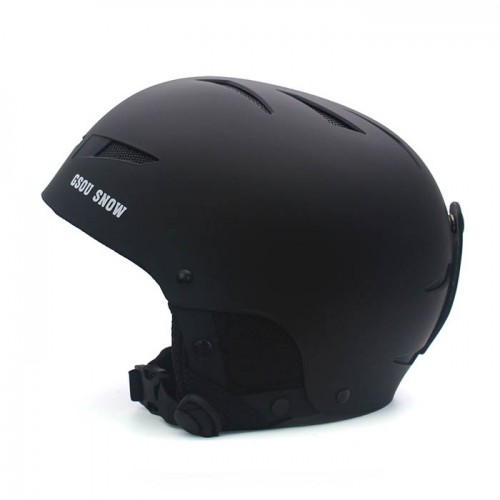 Шлем горнолыжный GSOU SNОW, цвет черный матовый, размер L (58-62cm), Горнолыжный шлем купить в Алматы
