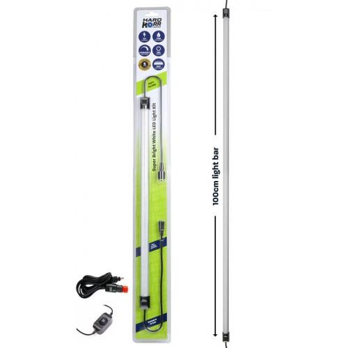 100cm панель WHITE LED LIGHT BAR, в комплекте выключатель и кабель 12вольт