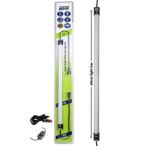 48cm панель WHITE LED LIGHT BAR, в комплекте выключатель и кабель 12вольт