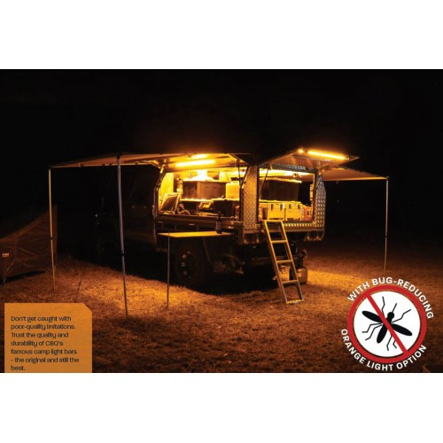 Светодиодное освещение лагеря и кемпинга, кейс набор 4шт Orange/White LED, Hard Korr лучший лагерный свет из Австралии
