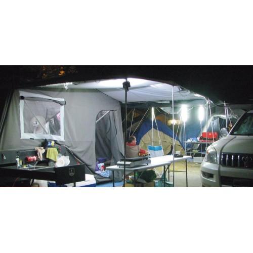 Лэд освещение для лагеря и шатров, кейс набор 6шт, CAMPKITOW6D, Hard Korr освещение из Австралии