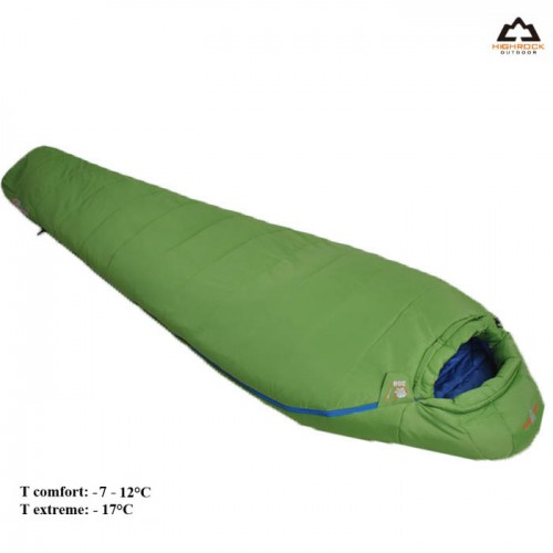 Спальни High Rock, цвет зеленый, размер 195см, зимний -7-12, купить Спальный мешок в Алматы
