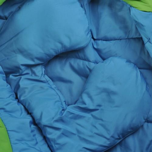 Спальный мешок High Rock, цвет зеленый, длина 205см, -7°С -12°С, вес 1.8кг