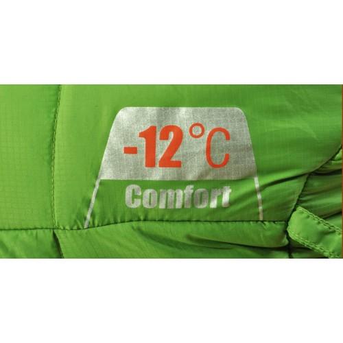 Спальный мешок High Rock, цвет зеленый, 205см, зимний -7-12, купить спальник в Алматы