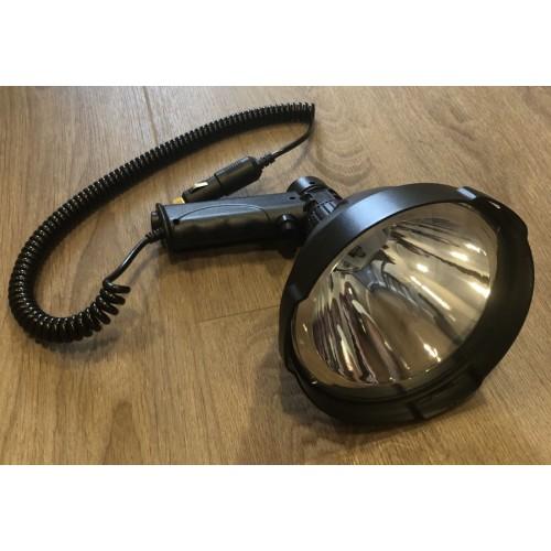 Ручной фонарь для Охоты, для охраны объекта, диаметр 164мм, дальность 600м, 4000 Lumens