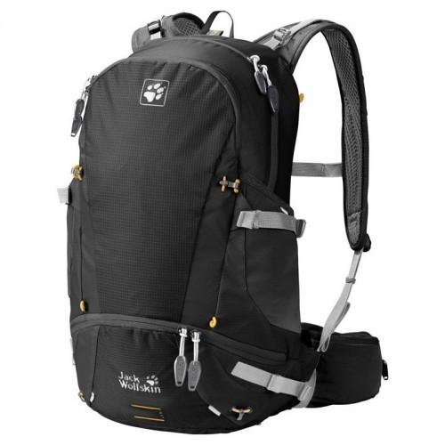Рюкзак Jack Wolfskin Moab Jam 30, цвет черный, рюкзак для активного отдыха, велосипедный рюкзак