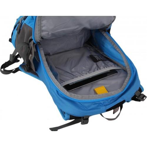 Рюкзак городской Jack Wolfskin Moab Jam 34, цвет синий, для ежедневного использования, велосипедный рюкзак, есть небольшой брак на рюкзаке