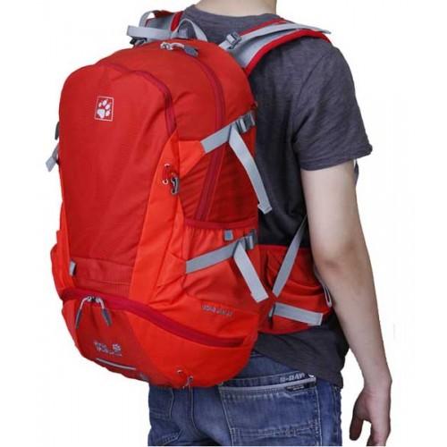 Городской рюкзак Jack Wolfskin Moab Jam 34, цвет красный, для ежедневного использования