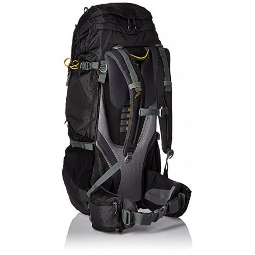 Туристический рюкзак Jack Wolfskin DENALI 70, цвет черный, для многодневных походов