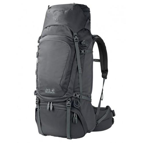 рюкзак Jack Wolfskin DENALI 70, цвет dark grey, Туристический рюкзак для многодневных походов