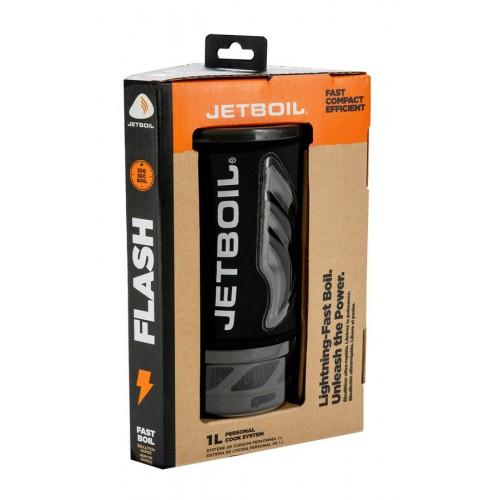 Комплект горелка с кастрюлей Jetboil Flash Carbon, Туристическая горелка Jetboil