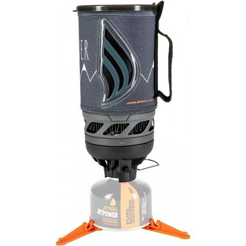 Комплект горелка с кастрюлей Jetboil Flash Wilderness, Туристическая горелка Jetboil