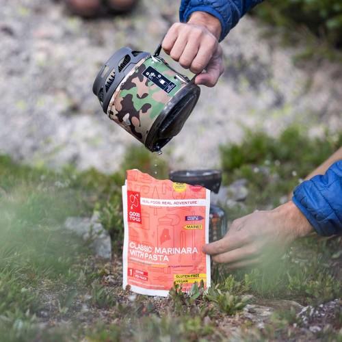 Комплект горелка с кастрюлей Jetboil MiniMo Camo, Туристическая горелка Jetboil