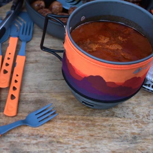 Комплект горелка с кастрюлей Jetboil MiniMo Sunset, JB-MNMSS, Газовая Горелка Jetboil