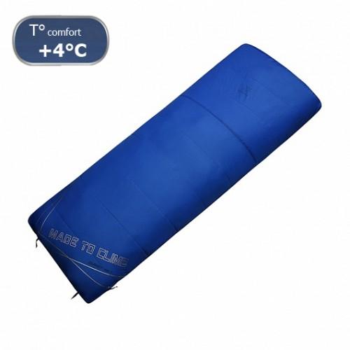 Спальный мешок Kailas Journey 0, +4°С -2°С, вес 1.4кг (EN 13537), KB220011, синий