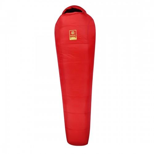 Kailas спальный мешок Camper -5°С -11°С, цвет красный, размер L, на рост до 185см, вес 1.7кг, KB210003, (EN 13537)