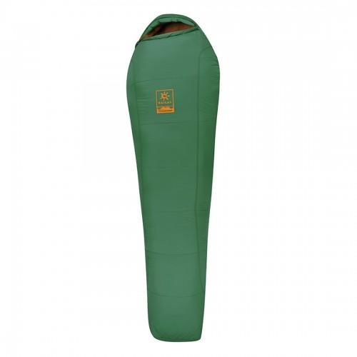 Спальный мешок Kailas Camper -5°С -11°С, цвет зеленый, размер L, на рост до 185см, вес 1.7кг, KB210003, зеленый, (EN 13537)