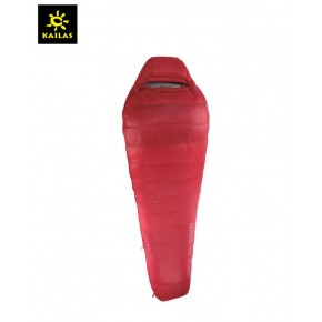 Пуховый спальный мешок Kailas Trek 800, -5°С -15°С, вес 1.6кг (EN 23537), красный