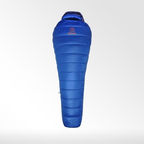 Спальный мешок пуховый Kailas Trek 300, +3°С -1°С, вес 0.6кг, KB110020, цвет синий, размер L