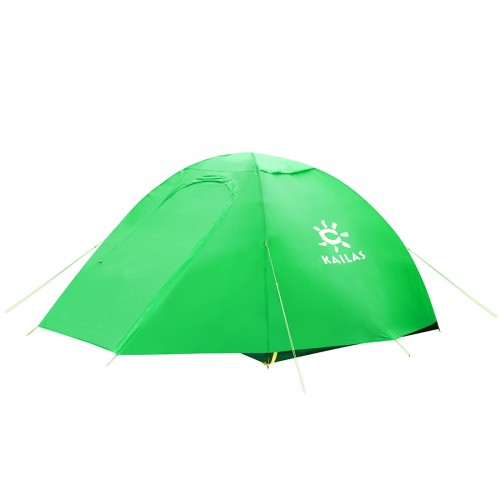 Двухместная палатка Kailas AD III 2P, KT320017, трехсезонная, цвет зеленый