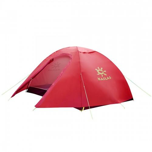 Двухместная палатка Kailas AD III 2P, KT320017, трехсезонная, цвет красный