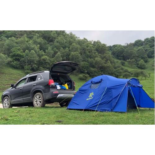 Трехместная палатка Kailas Star Night Camping Tent 3P, KT330005, палатка для кемпинга, зеленая