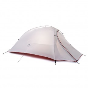 Одноместная палатка NatureHike Cloud Up 1 Ultralight (2019), цвет grey, вес 1.4 кг