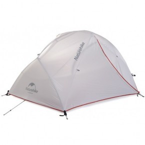Двухместная палатка NatureHike Star River 2 Ultralight, цвет grey, вес 2 кг.
