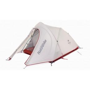 Двухместная палатка NatureHike Cirrus 2 Ultralight, цвет grey, вес 2кг