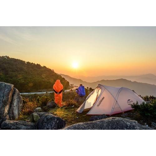 Двухместная палатка NatureHike Cirrus 2 Ultralight, NH17T0071-T, цвет grey, вес 2кг
