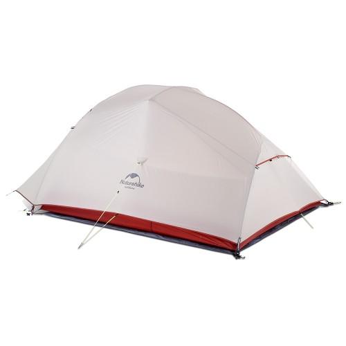 Легкая трехместная палатка, NatureHike Cloud3, цвет grey, вес 2.1 кг, обновленная модель 2019