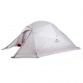 Трехместная палатка NatureHike Cloud3 Ultralight (2019), цвет grey, вес 2.2 кг, с юбкой