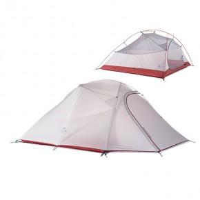 Трехместная палатка NatureHike Cloud3 Ultralight (2019), цвет grey, вес 2.1 кг