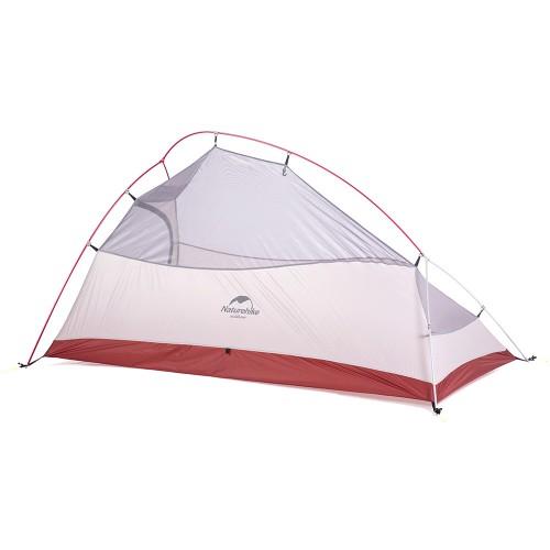 Двухместная палатка, NatureHike Cloud2 Ultralight, цвет grey, вес 1.8 кг, обновленная модель 2019