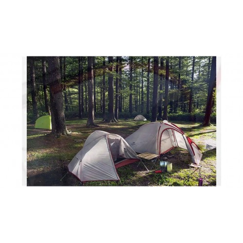 Палатка горная, Naturehike Hiby (2-3-местная) 20D silicone, NH18K240-P, обновленная, вес 3.2 кг