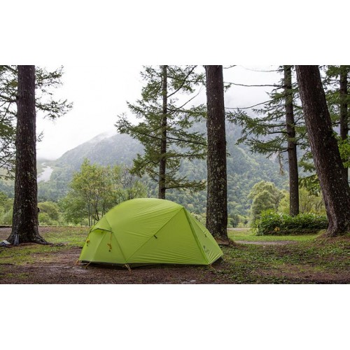 Палатки для походов и восхождений, палатка 3-х сезонная, Naturehike Mongar 2 Ultralight, цвет green, вес 2кг