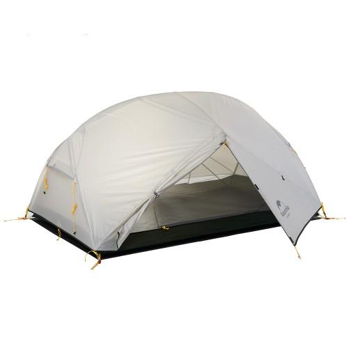 Палатка 3-х сезонная, Палатка 2-х местная туристическая с тамбуром, NH17T007-M, цвет grey, вес 2кг