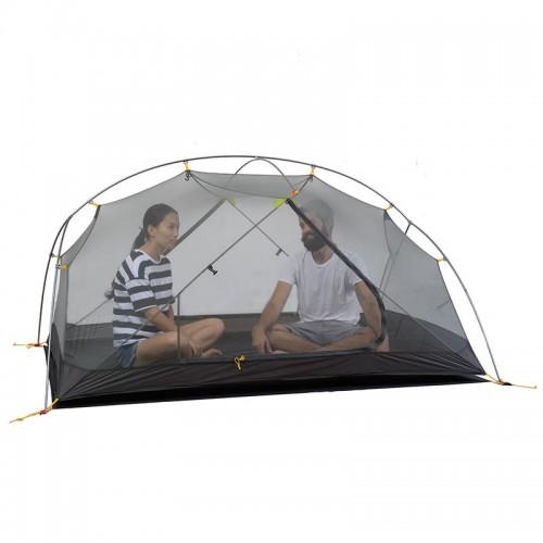 Двухслойная палатка с внешним тентом 20D, NH17T007-M, Naturehike Mongar 2 Ultralight, цвет purple, вес 2кг