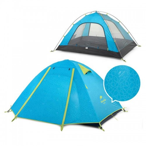 Двухместная палатка NatureHike NH15Z003-P, цвет оранжевый, Туристические палатки в Алматы